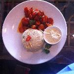 8 Treasures - King Prawn Kung Po - lunch £7.80