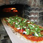 1 METER PIZZA - baked in wood-fire pizza oven