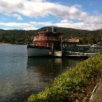the Morgan tour boat.