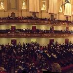 Panorama picture just before the start of Porgy & Bess
