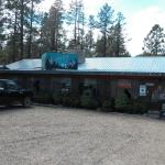 Greer Country Cafe (with my truck out front) 9-20-12