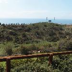 Stunning outlook over the Med