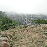 View of Jaipur from temple