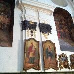 Afresco de St. Helene e St. Constantine