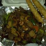 cashew nut beef