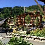 Picture of pretty morzine centre