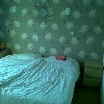 One of the twin rooms, basic, modern, spacious and clean