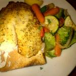 Plank Grilled Tilapia