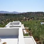 Aussicht von der privaten Terrasse