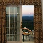 Private balconies offer stunning views
