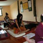 Escuela de masaje Tailandés, Nuad Boran, en Chiang Mai