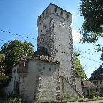 St Johanns Tor, one of the 3 still existing towers in Basel