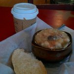 Shrimp N Grits and a cup of coffee....ah, the simple pleasures in life. =)