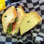 The Gobbler sandwich