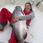 Kristy's 62.5 LB Chinook......WOW!