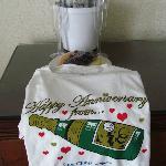 Anniversary gift from the resort