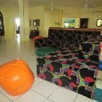 Lounge/Ping Pong/Pool Table area