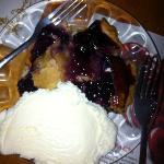 blueberry pie, Delish!