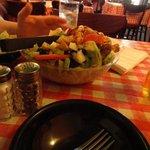 Small version of big salad