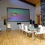 Cinema or Presentation room at Takaro Corporate Retreat
