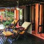Deluxe Bungalow verandah