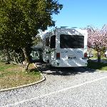 Beautiful, tidy areas for motorhomes