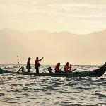 Morning Dolphin tour at Kiluan Bay