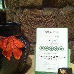 Certificato di eccellenza 2012