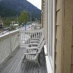 All 2nd floor Suites have Balconies.