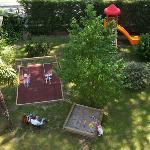 Childrens play ground in the Garden