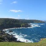 The view on our Coastal Walk, Zennor to St Ives