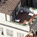Our sunny terrace from Giotto's Campanile