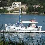 """le """"Dimitris"""", bateau de Spyros"""