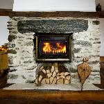 Get cosy in front of the roaring fire!