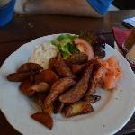 patatas gajo con salmon