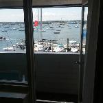 Marina View from the Tiny Balcony