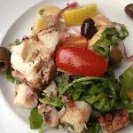 The best octopus salad EVER