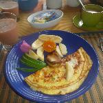 El delicioso desayuno
