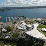 Océanopolis, le parc de découverte des océans, sur le port de plaisance de Brest