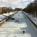 Skateway view from Corktown Bridge