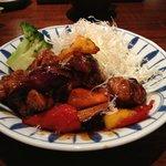 Deep fried chiken marinated with Japanese Vinegar