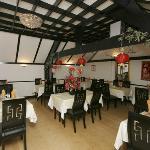 Restaurant back room