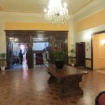 part of common area of hotel