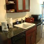 Sea Front Suite Kitchenette