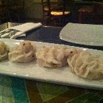 Veggie dumpling - 'Bird like' SO YUMMY