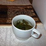 chá de folhas de coca à vontade no hotel