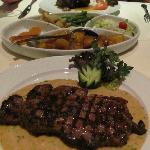 Steak in Garlic Sauce