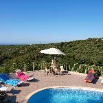 pool area Villa Dimitri