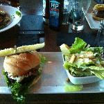Blue Cheeze Buffalo Burger