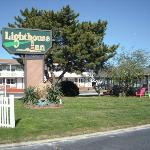 Lighthouse Inn courtyard